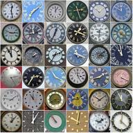 squared circles - Clocks by Leo Reynolds.