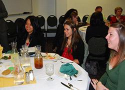 Graduation luncheon OnlinePlus Fall 2012