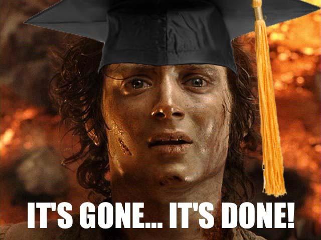 Frodo Grad meme