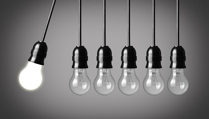 Education-options-influence Light bulbs in motion