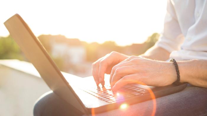 Typing sunshine